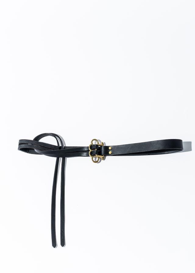 nahezu≒gleich / J.C belt black/brass black/black - 画像1