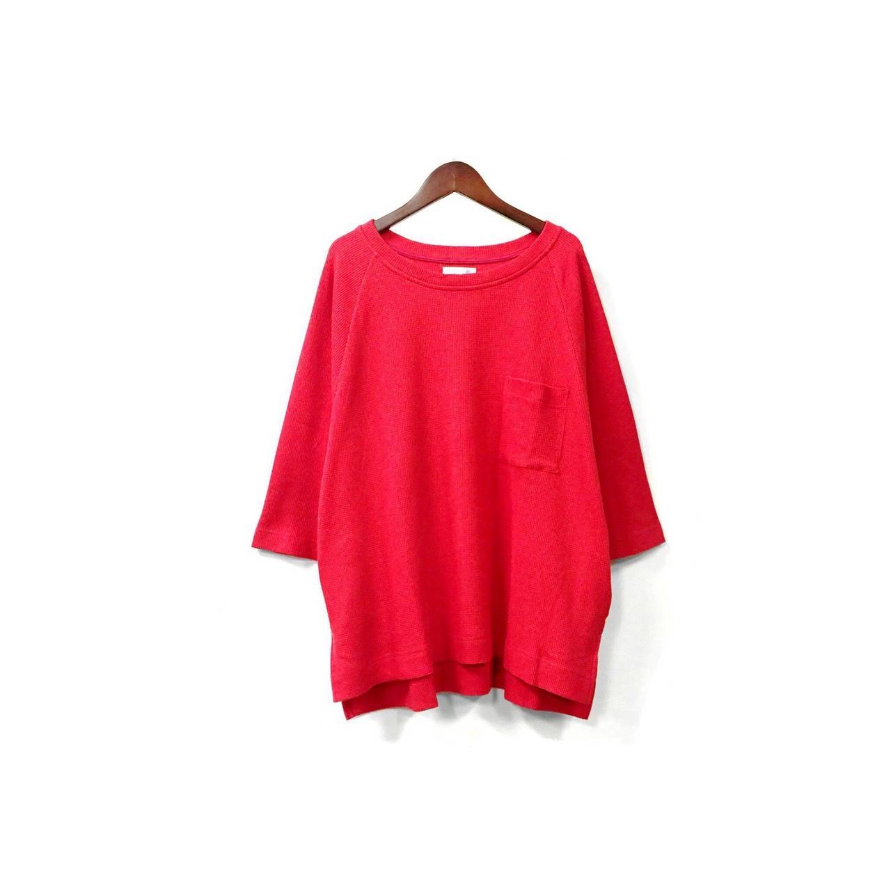 yotsuba - Thermal Tops / Red ¥11000+tax