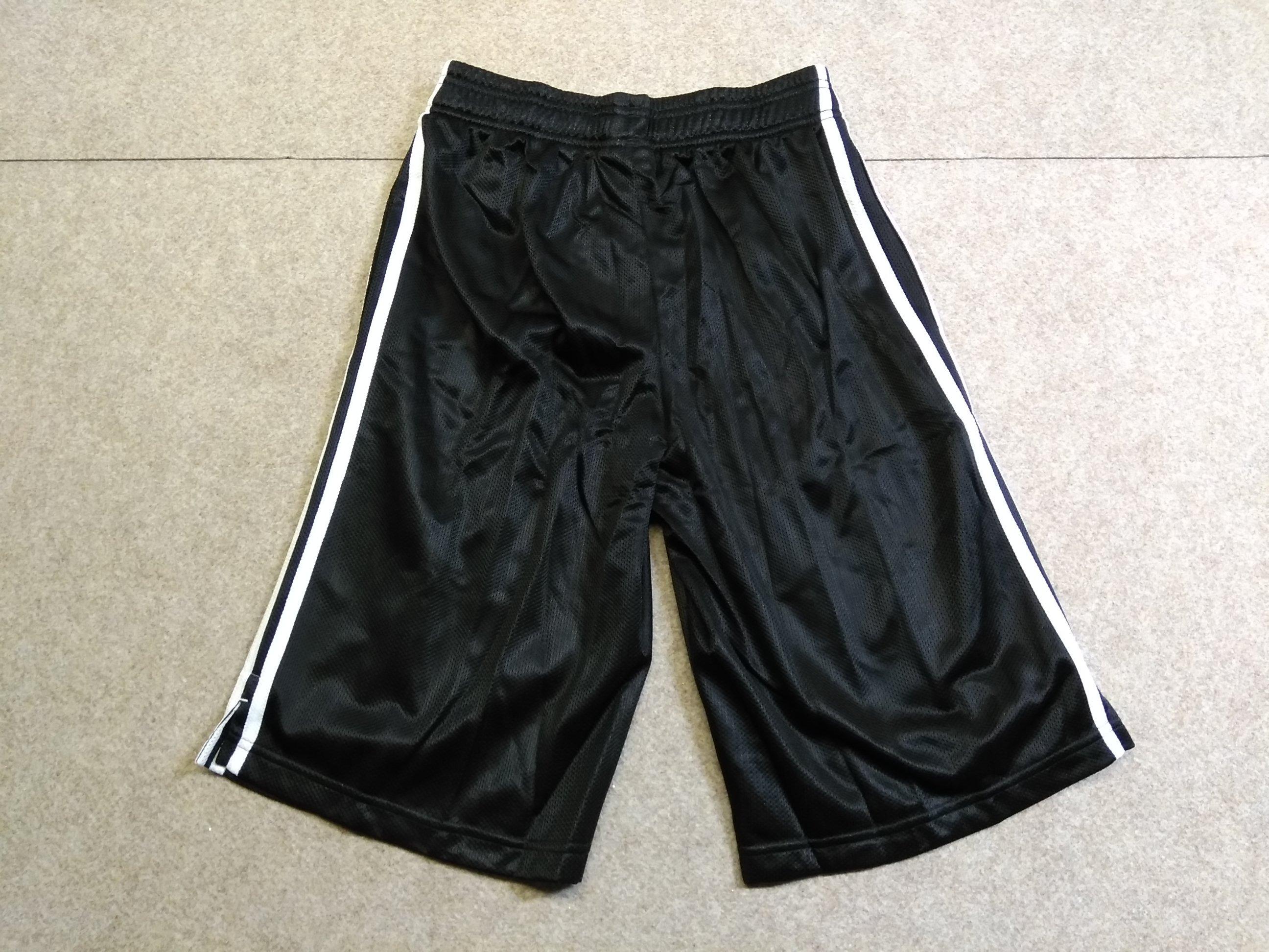 adidas ハーフパンツ メンズ M ブラック×ホワイト y1481i