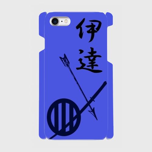 伊達氏家紋/ iPhoneスマホケース(ハードケース)