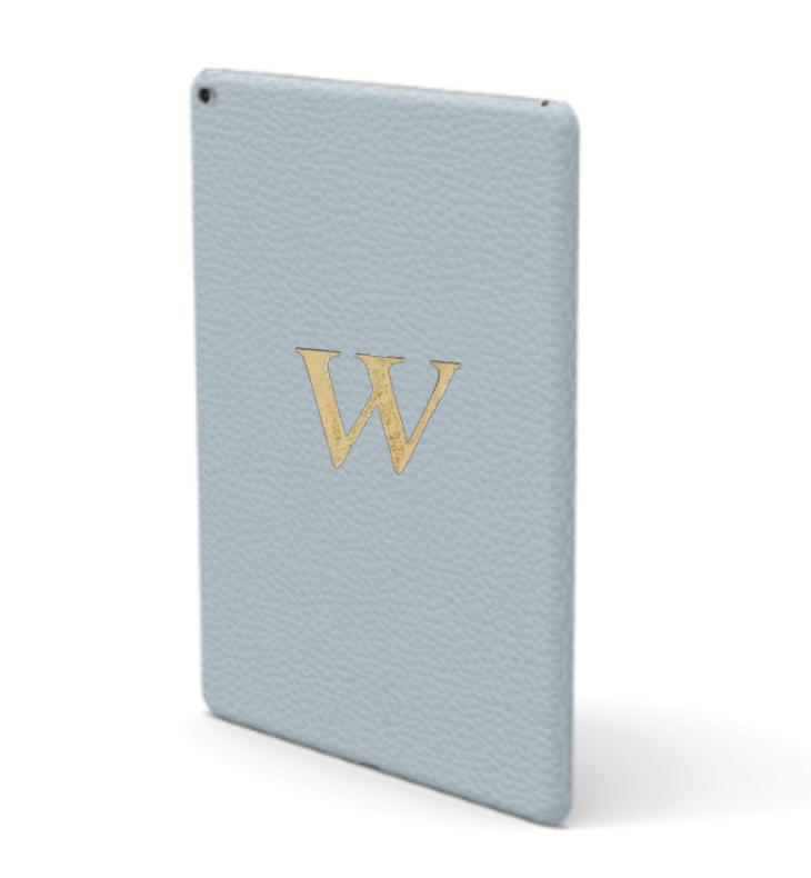 iPad Premium Shrink Leather Case (Sky Blue)