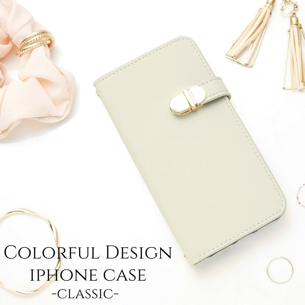 iphoneケース 手帳型 ミラー付き iphonexs iphonexr iphone8 iphone7 スマホケース シンプル かわいい おしゃれ 大人可愛い スタンド レディース アースカラー グレージュ