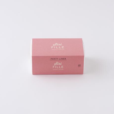 sisiFILLE おりもの専用シート 40個入【Sanitary pad】