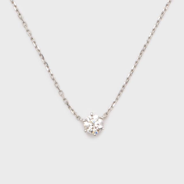 ENUOVE frutta Diamond Necklace Pt950(イノーヴェ フルッタ 0.3ct プラチナ950 ダイヤモンドネックレス アジャスターワカンチェーン)