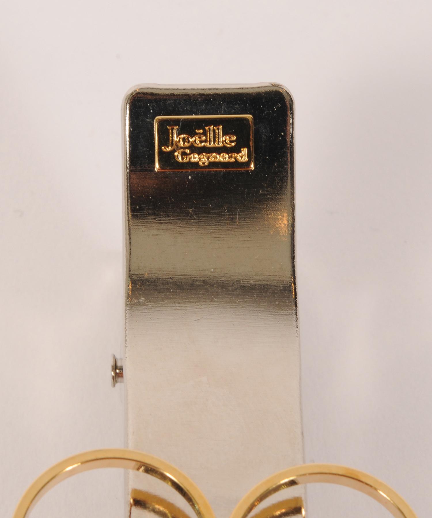 Joe19AW-14 circle random long clip (gold)