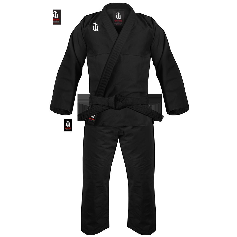 WAR TRIBE ALPHA JIU JITSU GI ブラック 柔術衣