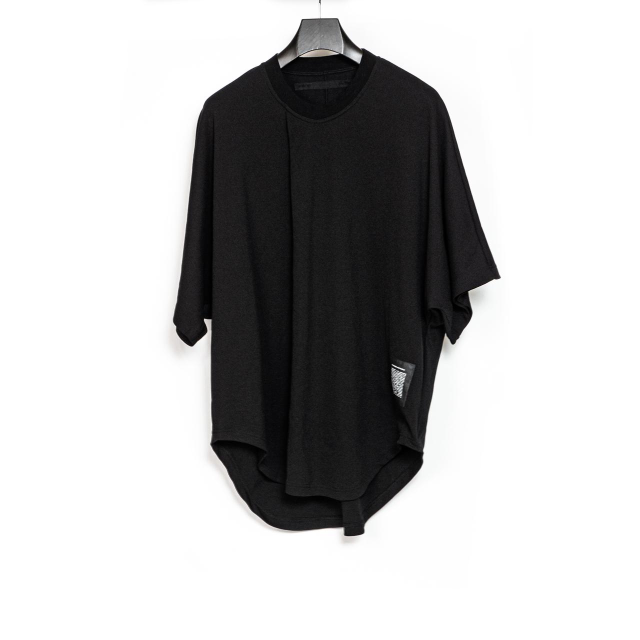 700CUM9-BLACK / フロントタックビッグ Tシャツ