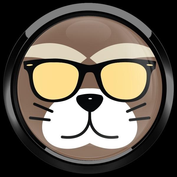 ゴーバッジ(ドーム)(CD0892 - Fancy Cat) - 画像2