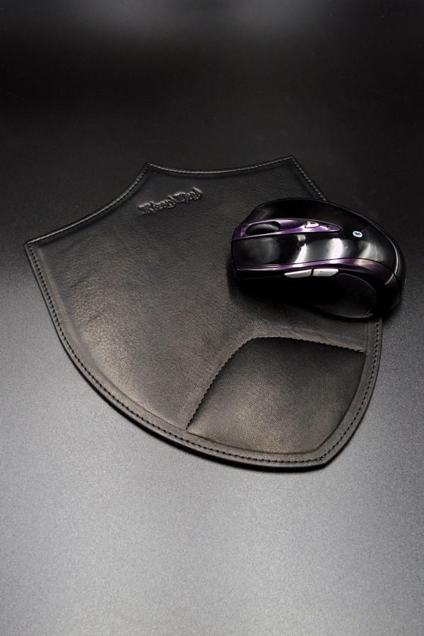 Item No.0337:Mouse pad/Baby calf-Black