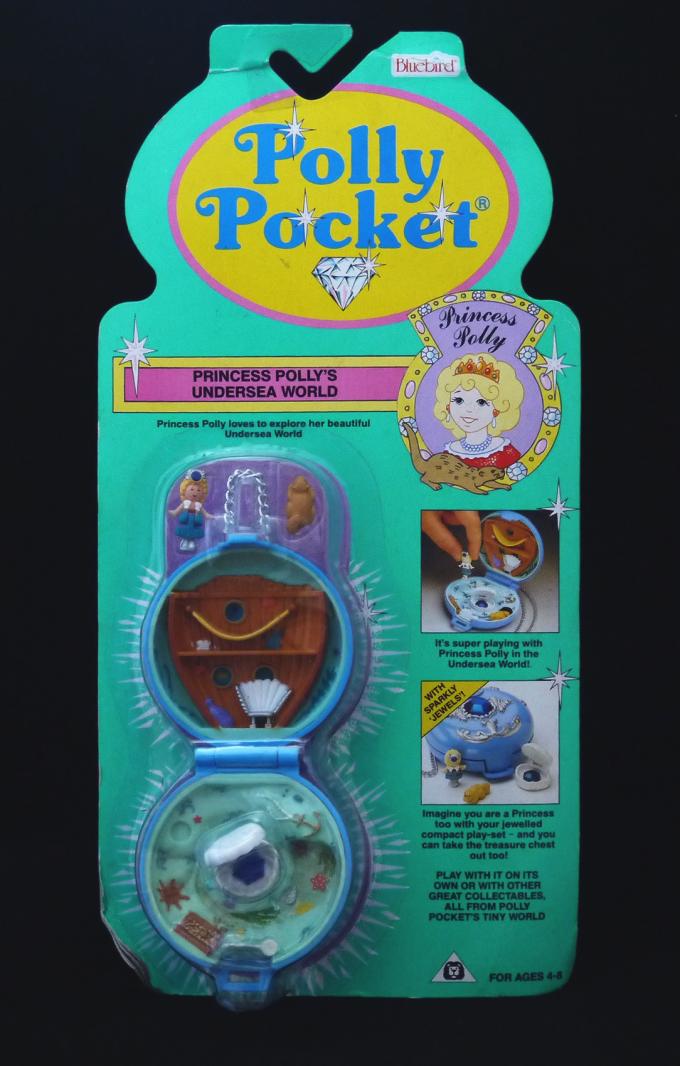 ポーリーポケット ジュエルド・シー  1992年 新品