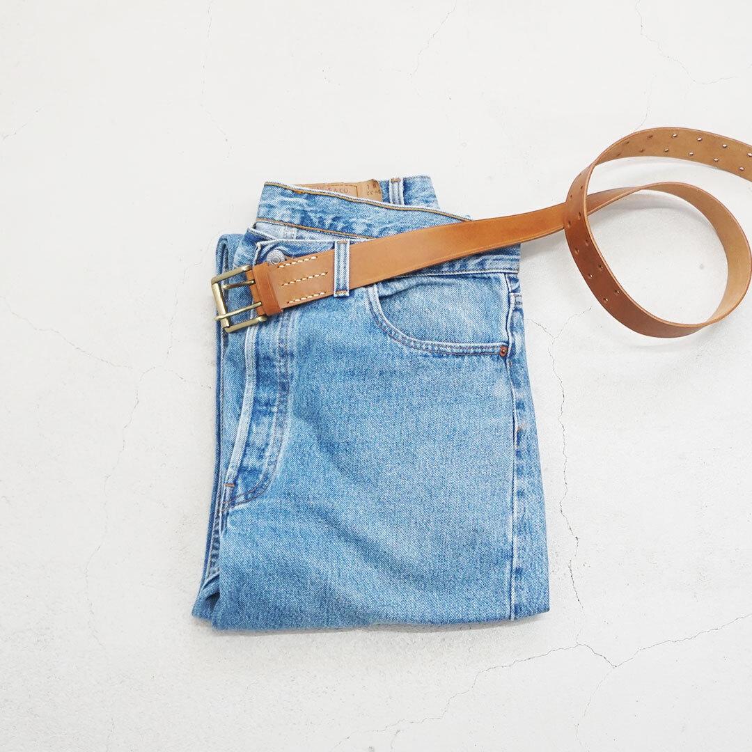 ICHIAntiquites イチアンティークス Leather Belt レザーベルト (品番500000)