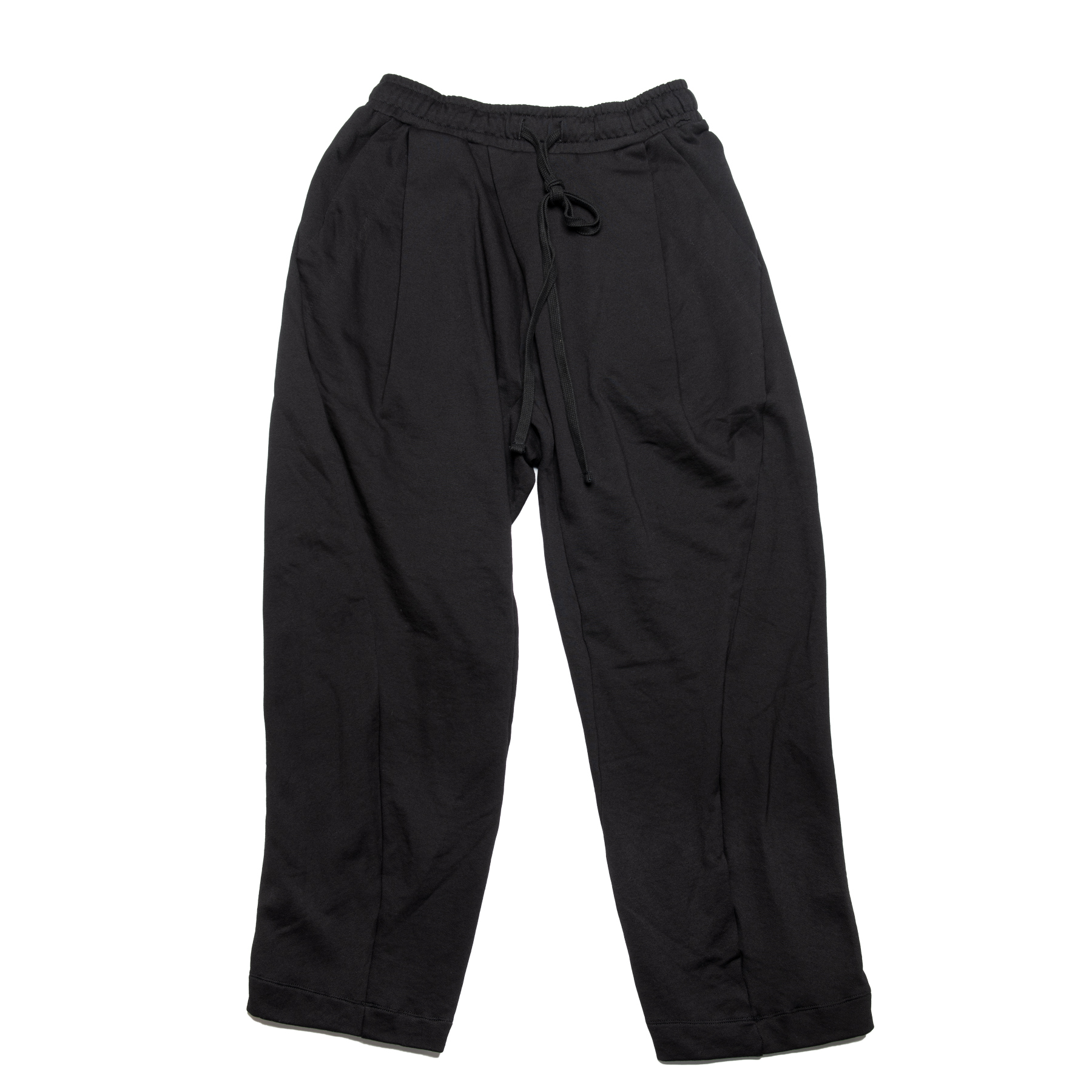 637PAM25-BLACK / イージー バギー パンツ