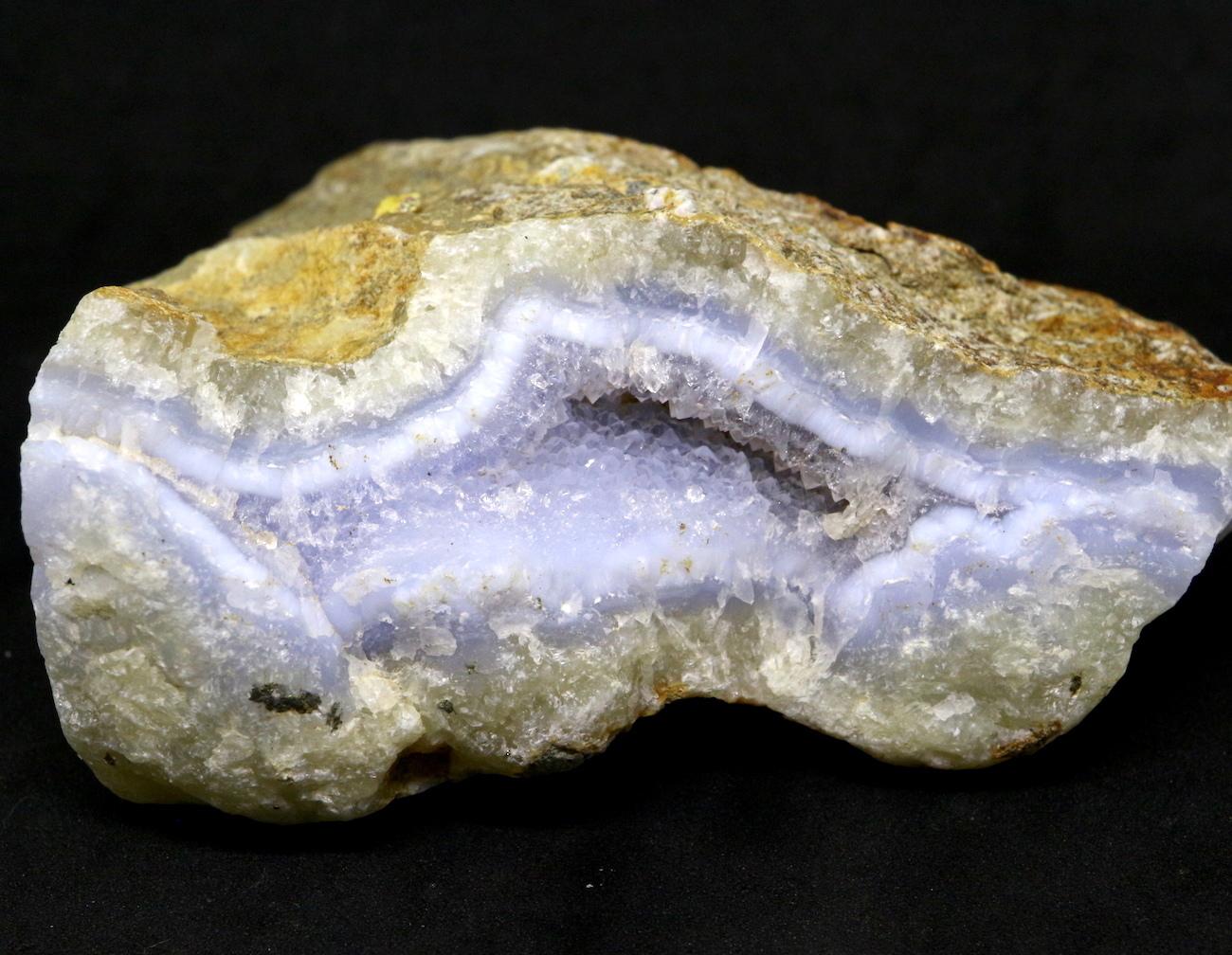 ブルーレースアゲート アフリカ産 200,8g BLA027 原石 鉱物 標本 天然石 パワーストーン