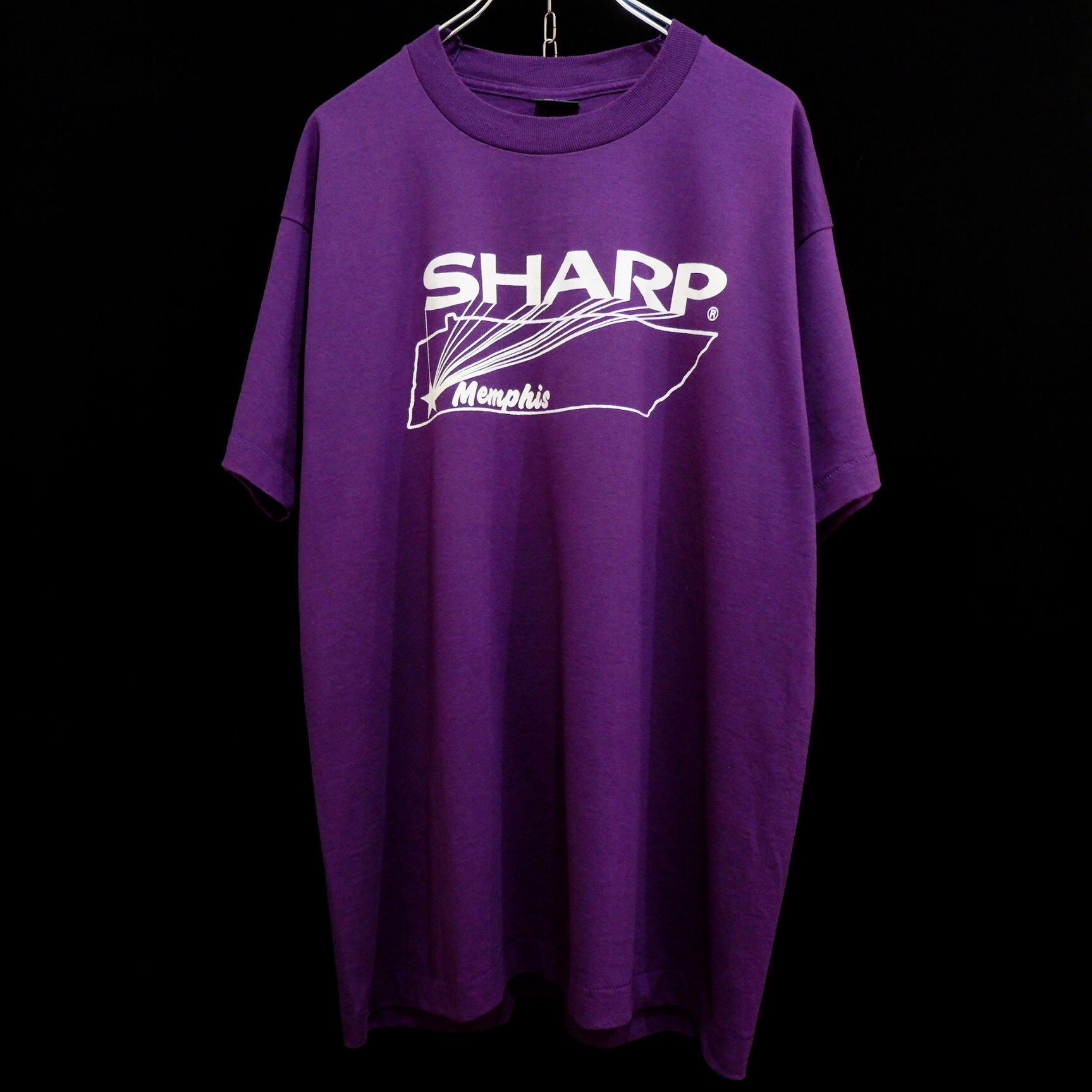 """アメリカ古着 1990s USA製 vintage """"SHARP"""" Tシャツ"""