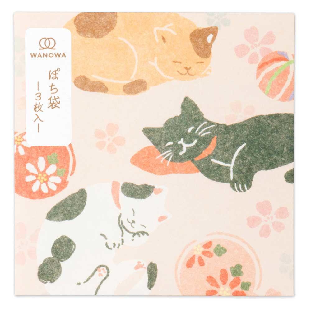 猫ぽち袋(日本猫)