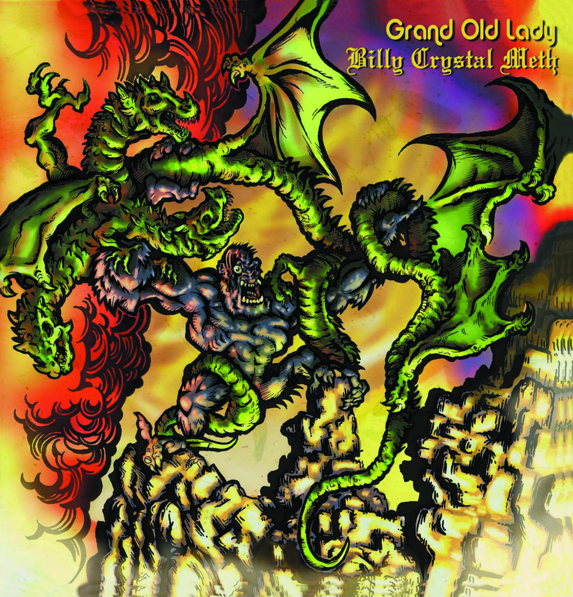 Billy Crystal Meth / Grand Old Lady (CD)