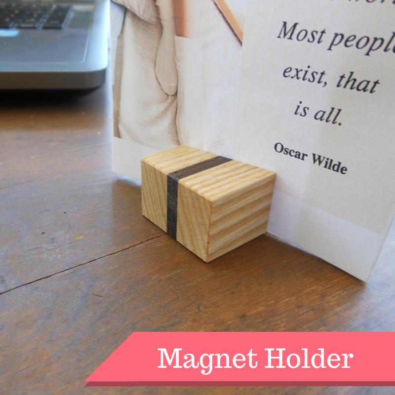 【木製マグネットホルダー01】 - 画像1