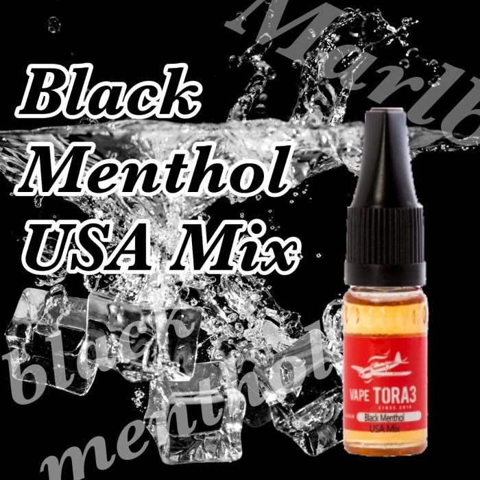 Black Menthol USA Mix(マルボロブラックメンソール風味) 電子タバコ リキッド 10ml VAPETORA3