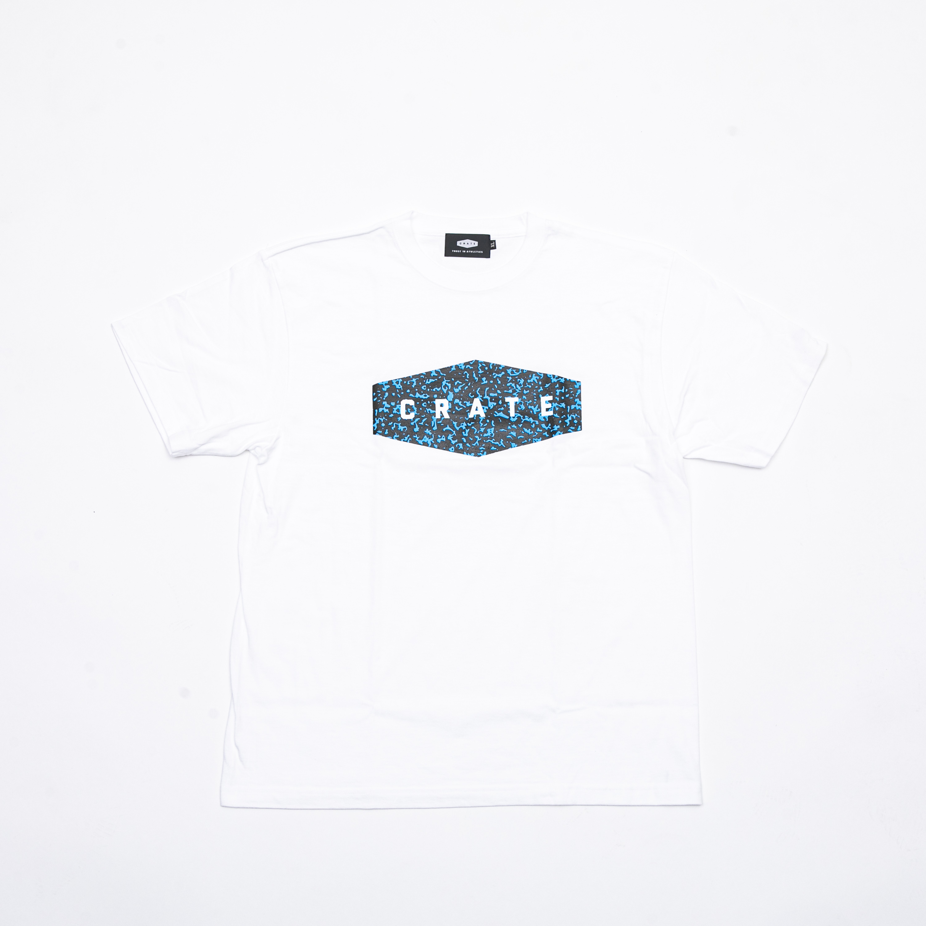 NOTE BOOK T-SHIRTS WHITE×BLUE