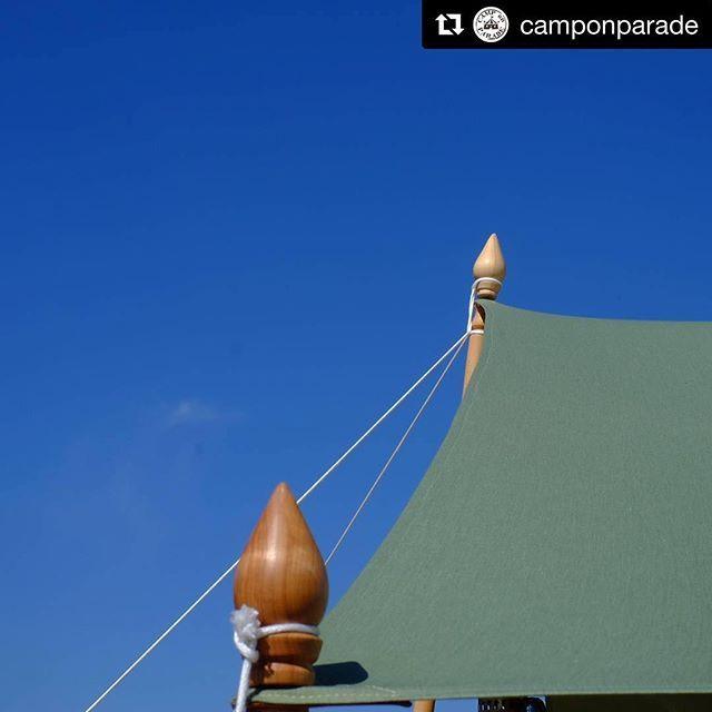 CAMP on PARADE タープポール240cm