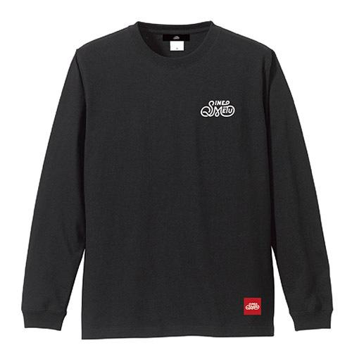 SINE METU ロゴ L/S Tee / ブラック | SINE METU - シネメトゥ
