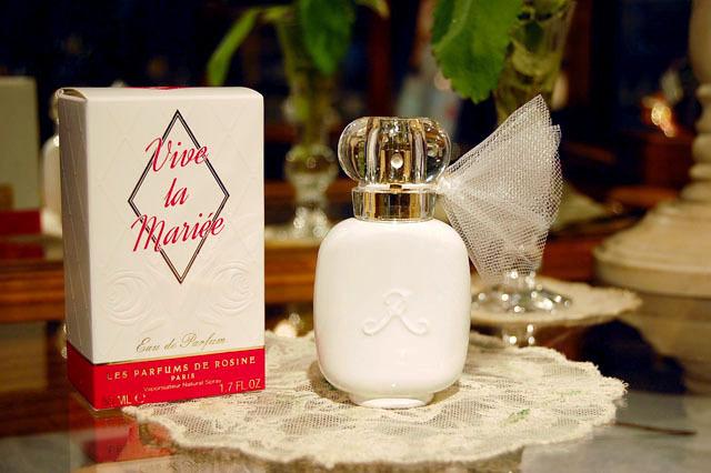 Les Parfums de ROSINE パルファン・ロジーヌ パリ オードパルファン Vive la Mariee ヴィーヴ・ラ・マリエ