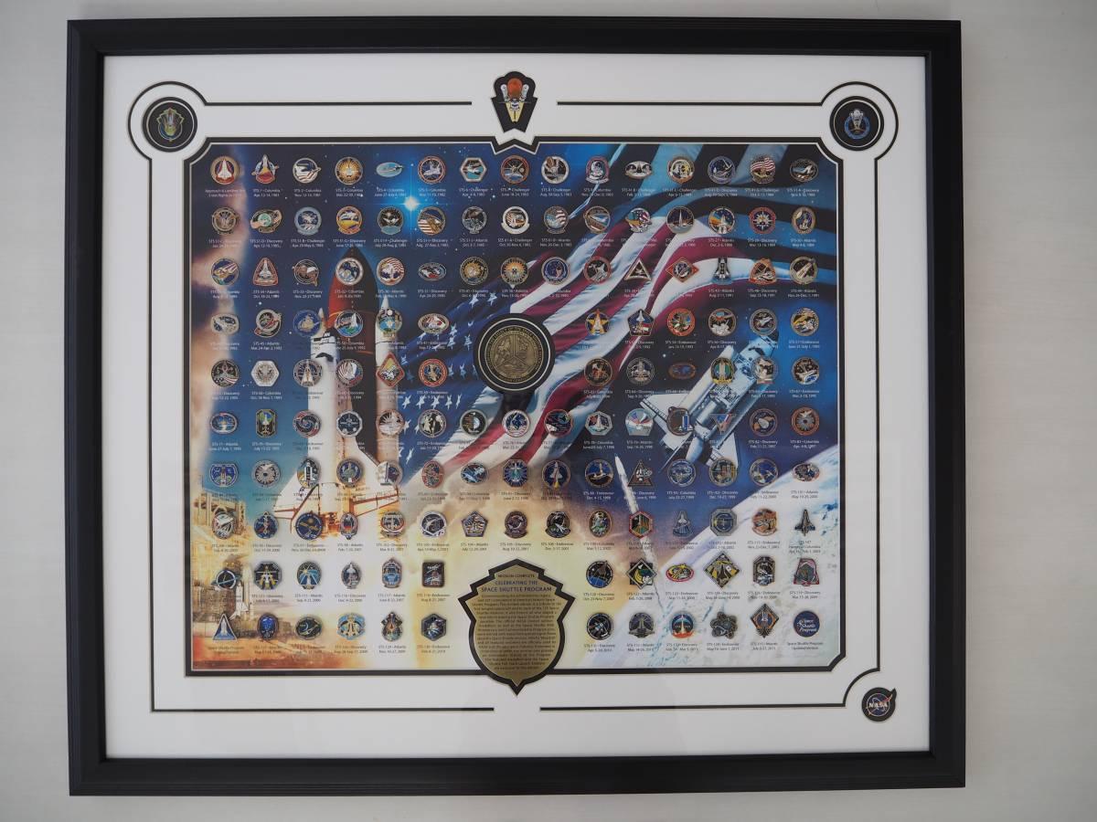 品番0147 NASA スペースシャトル超貴重エンデバー記念ピンズコレクション全飛行記念