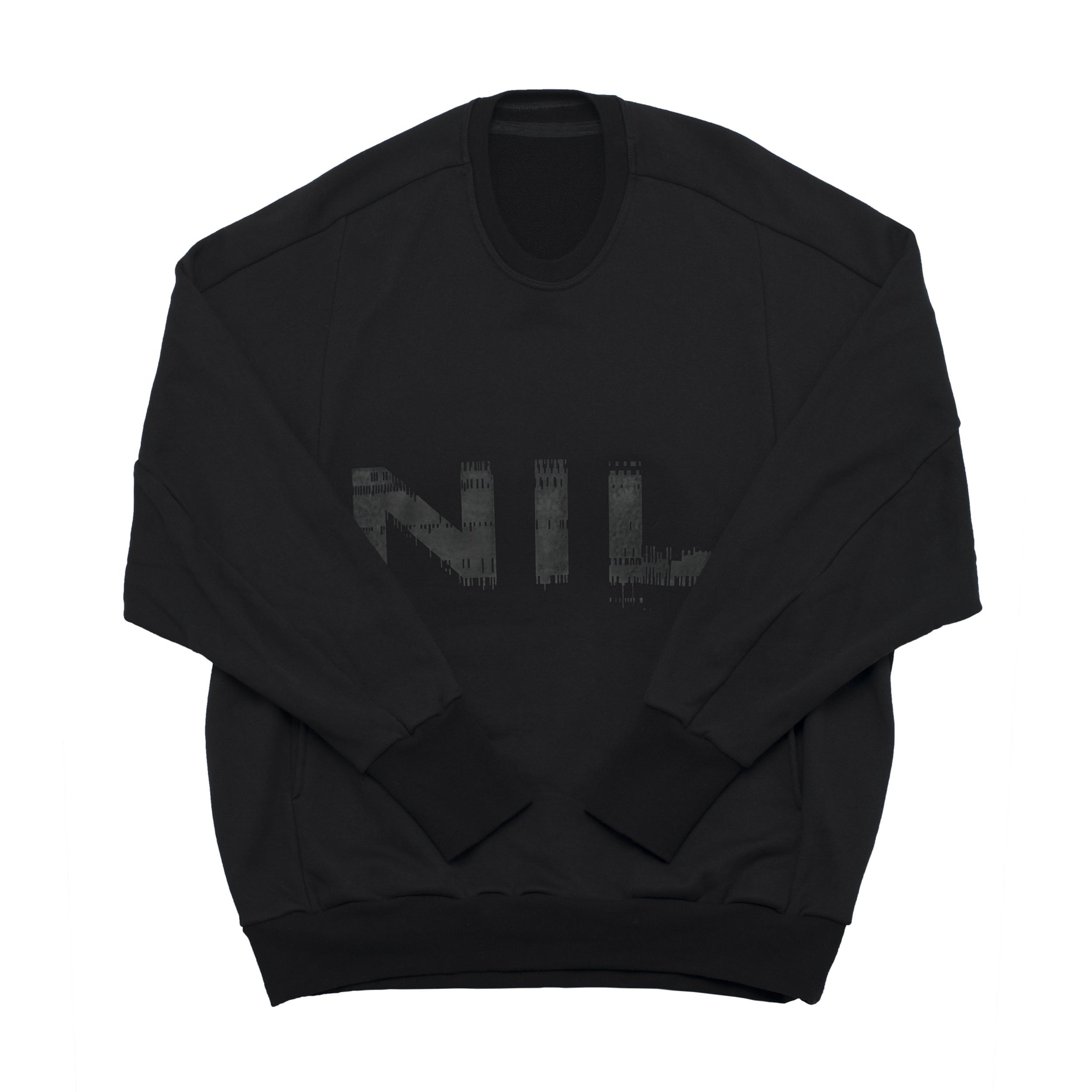 680CPM3-BLACK / NIL ビッグスウェットシャツ