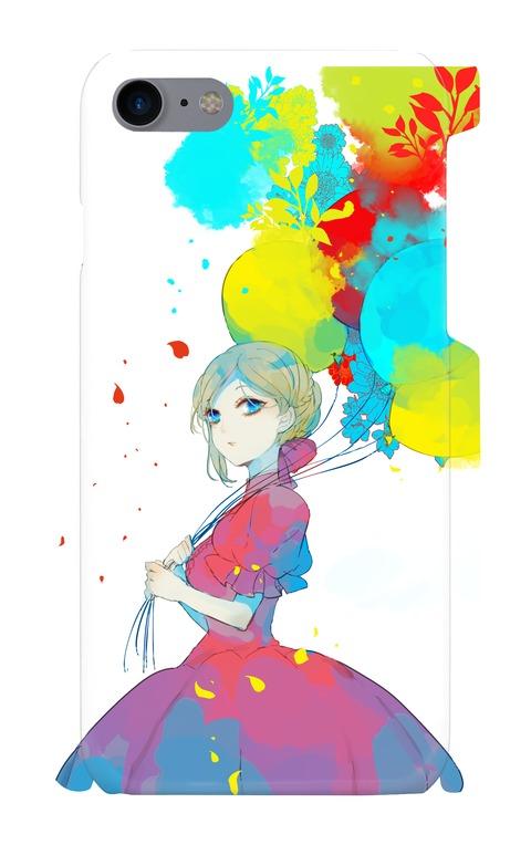 【送料無料】六花デザイナーUMEオリジナル iPhone7 スマホケース【Colorful】