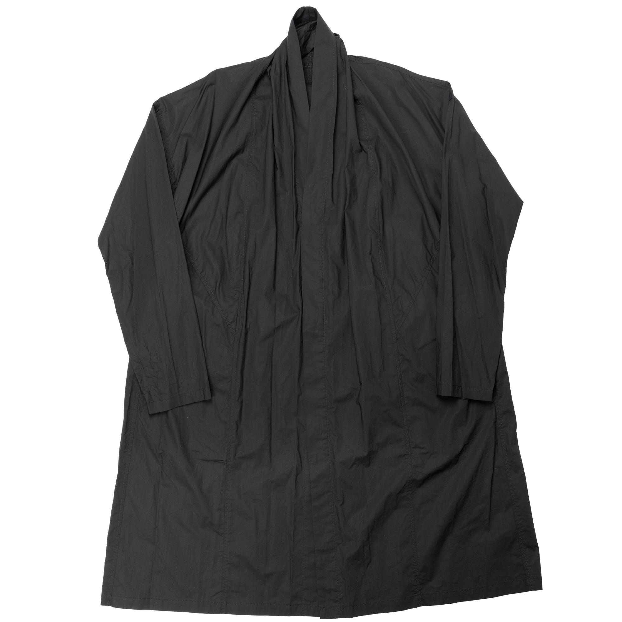 647SHM3-BLACK / ドレーピングシャツジャケット