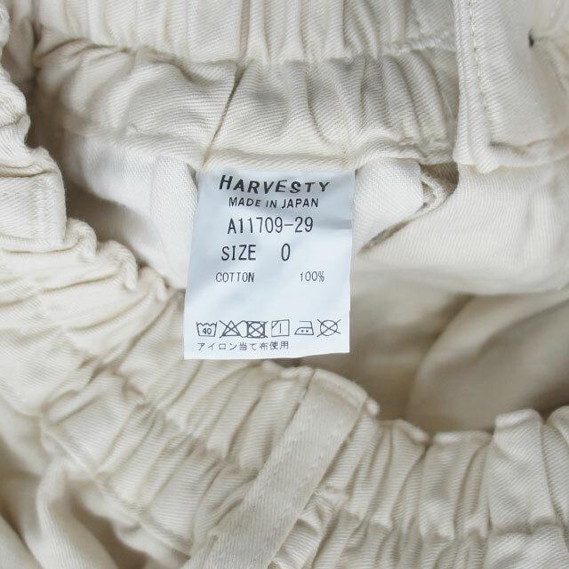 HARVESTY ハーベスティ チノクロスサーカスパンツ 正規取扱店 (品番a11709)