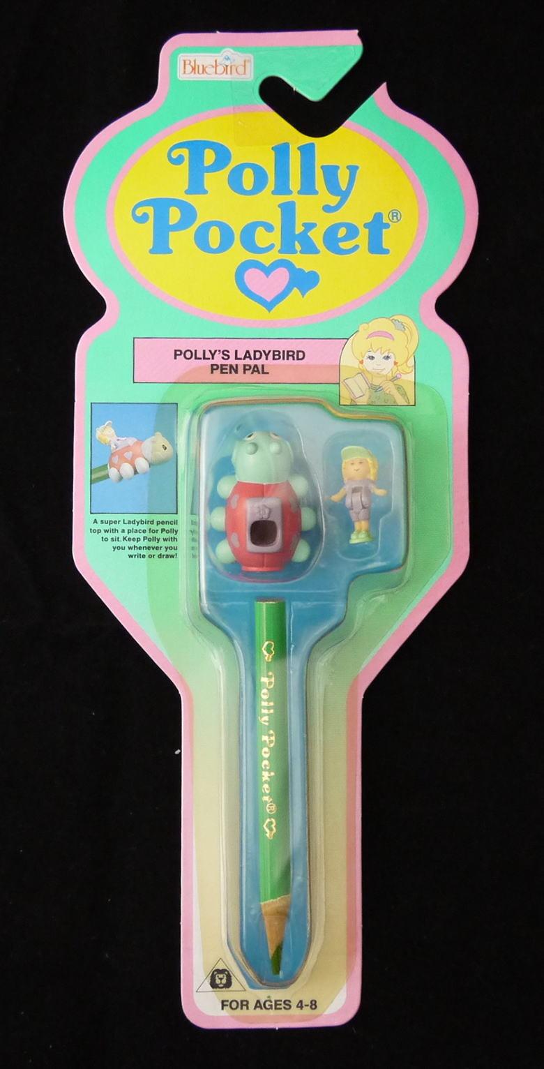 値下げ!ポーリーポケット テントウムシのペン飾り 新品 1992年