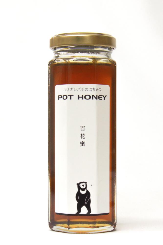 ハリナシバチの蜂蜜  POT HONEY 百花蜜 170g