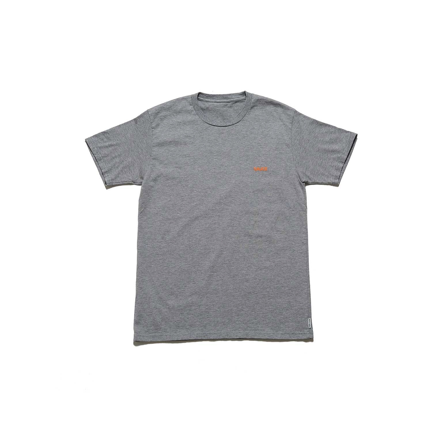 "SPICE COLOR PRINT TEE ""SAUCE"" -  GRAY"