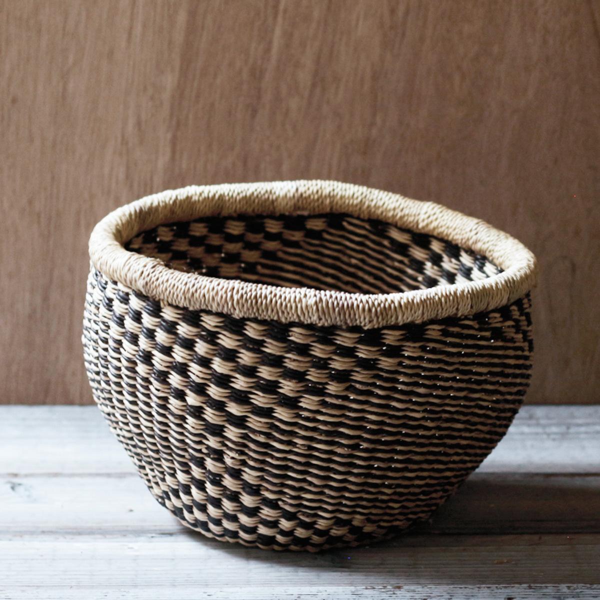 Bolga Basket Round No Handle / S