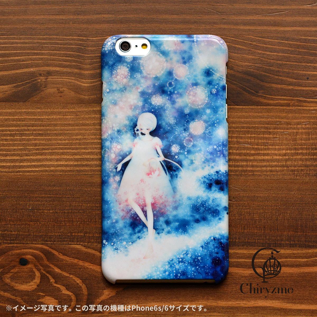 桜 スマホケース iphone ケース 桜 アイフォン7 ケース 桜 iphone 6s ケース 桜 明日は桜の星が降る/Chiryzmo