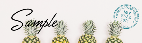 ブログヘッダー(アメブロ簡単カスタマイズ) -- fruit01