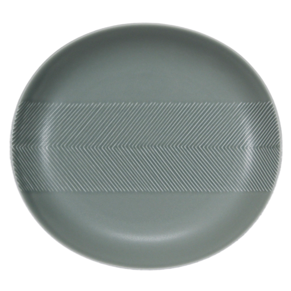 BIRDS' WORDS Tabletop Plate 24.5cm squall gray