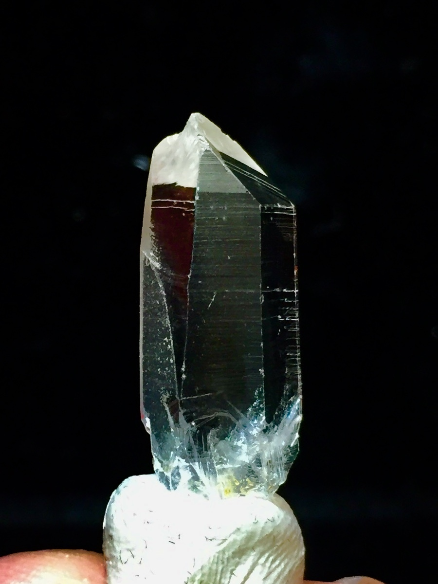 5) 高千穂岩戸水晶(ミニサイズ美品)