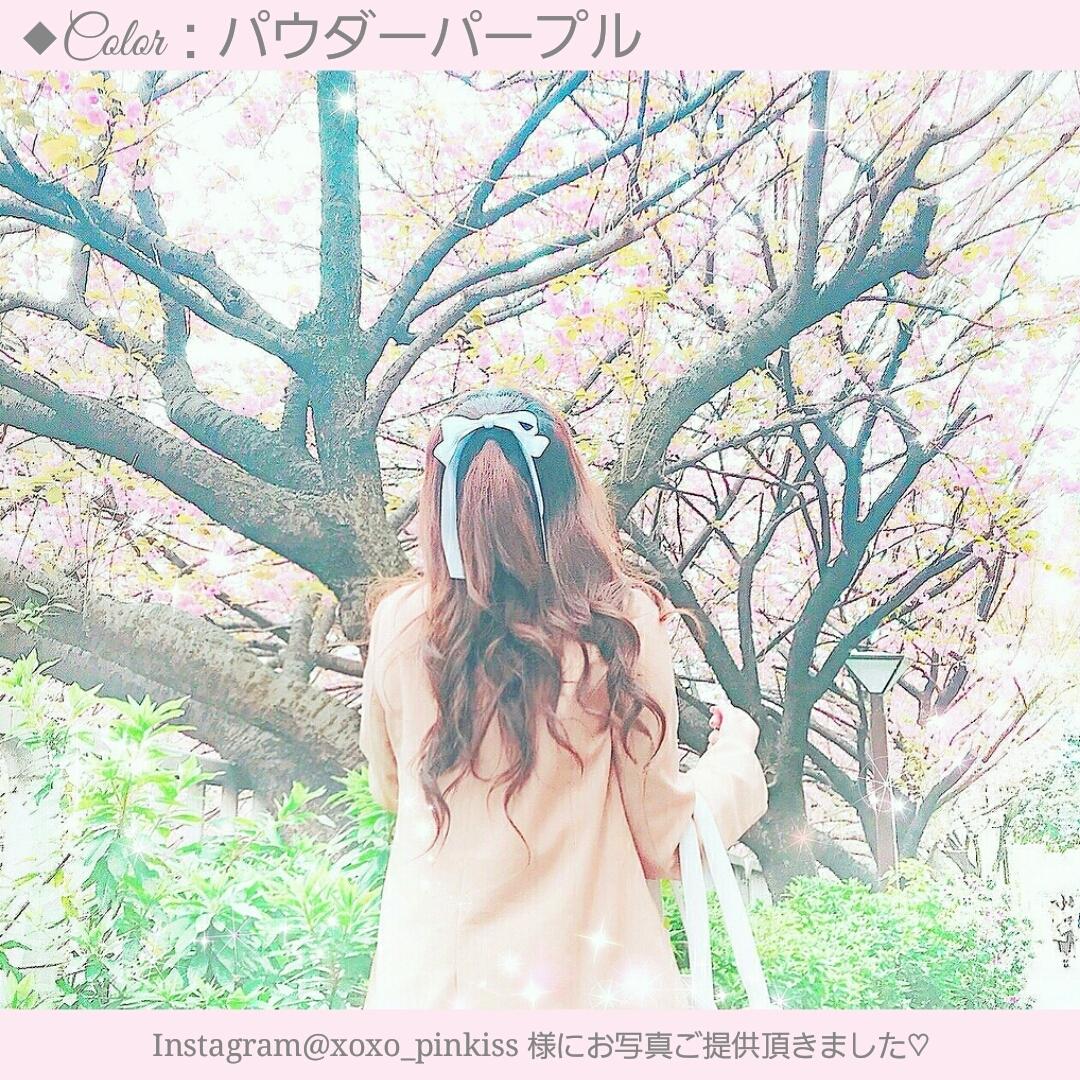 【30色】たらりんロングリボンヘアゴム[C5]