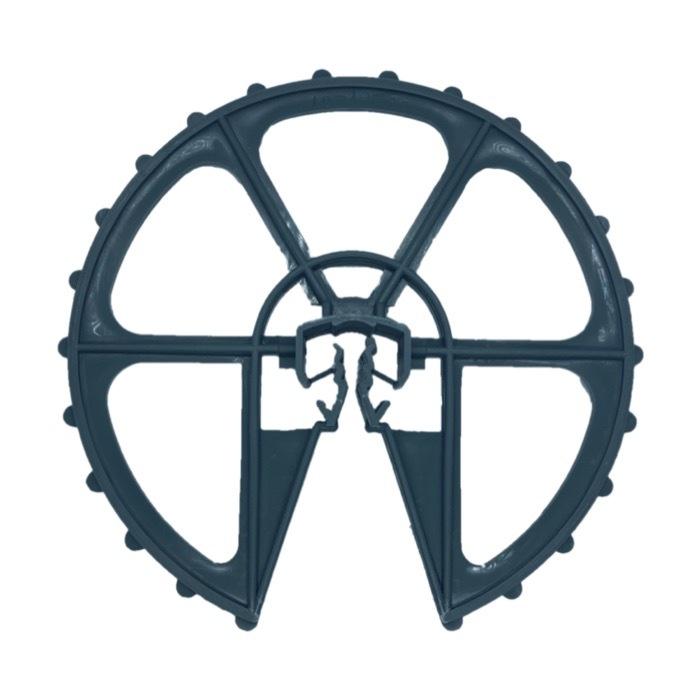 鉄筋型スペーサー ドーナツ型 兼用(D10~16 W70 150個入 グレー)
