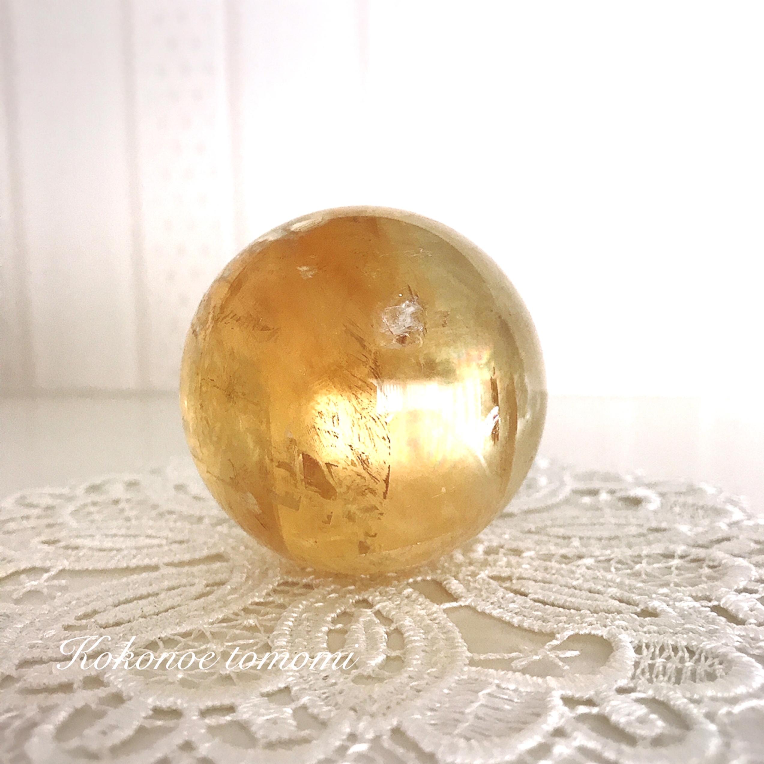 【限定1】最大限のパワーを発揮し、金運を引き寄せる・高品質ゴールデンカルサイト