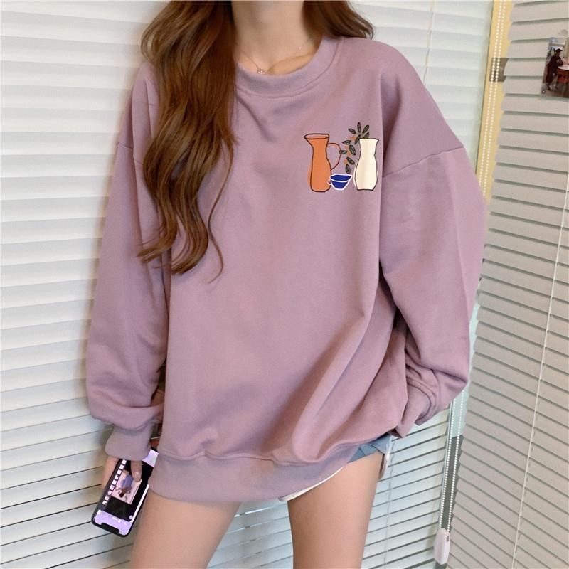 ルーズフードレスセーター【loose hoodless sweater】