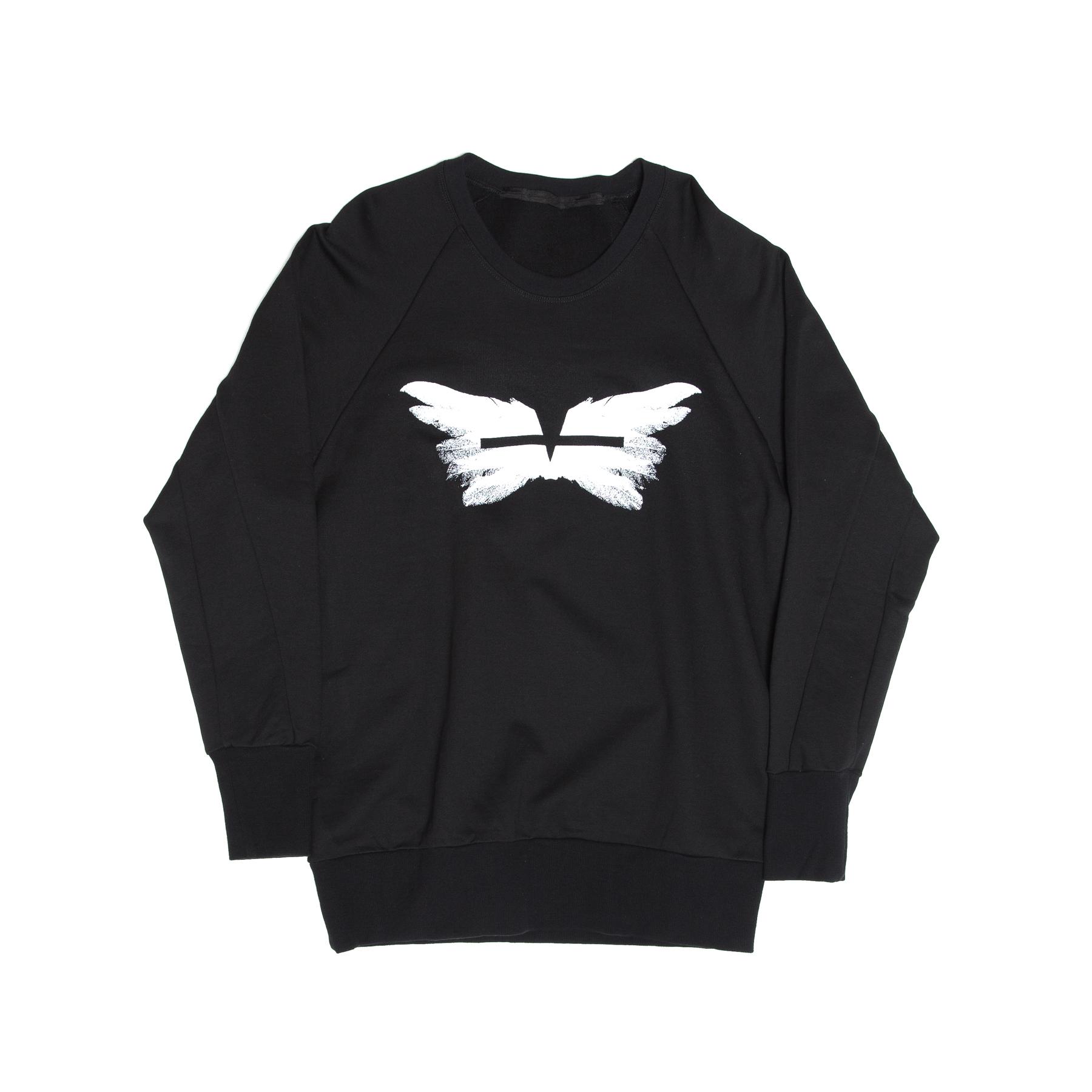 617CPM1-BLACK / ウィングスウェットシャツ