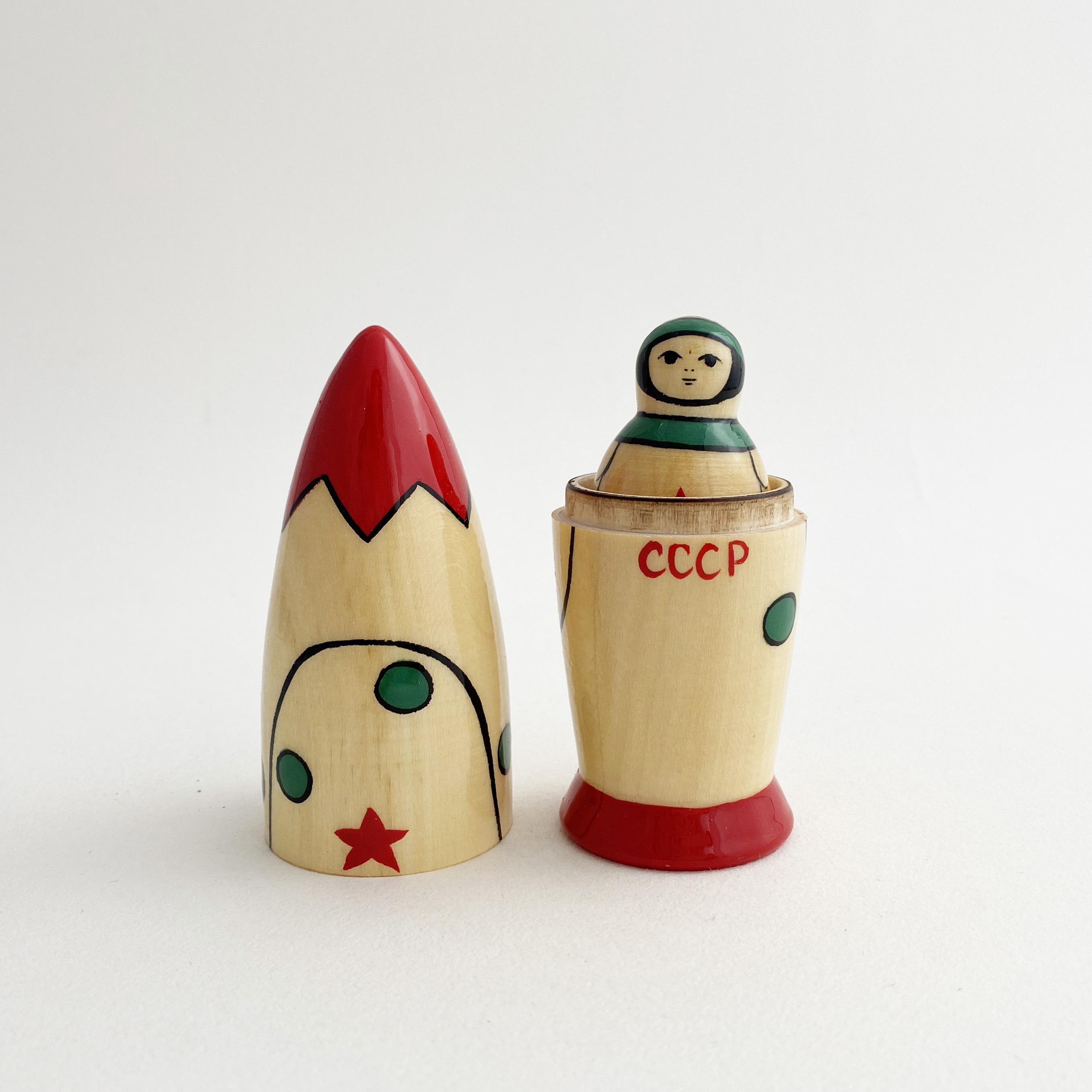 ロケットマトリョーシカ(3個組)