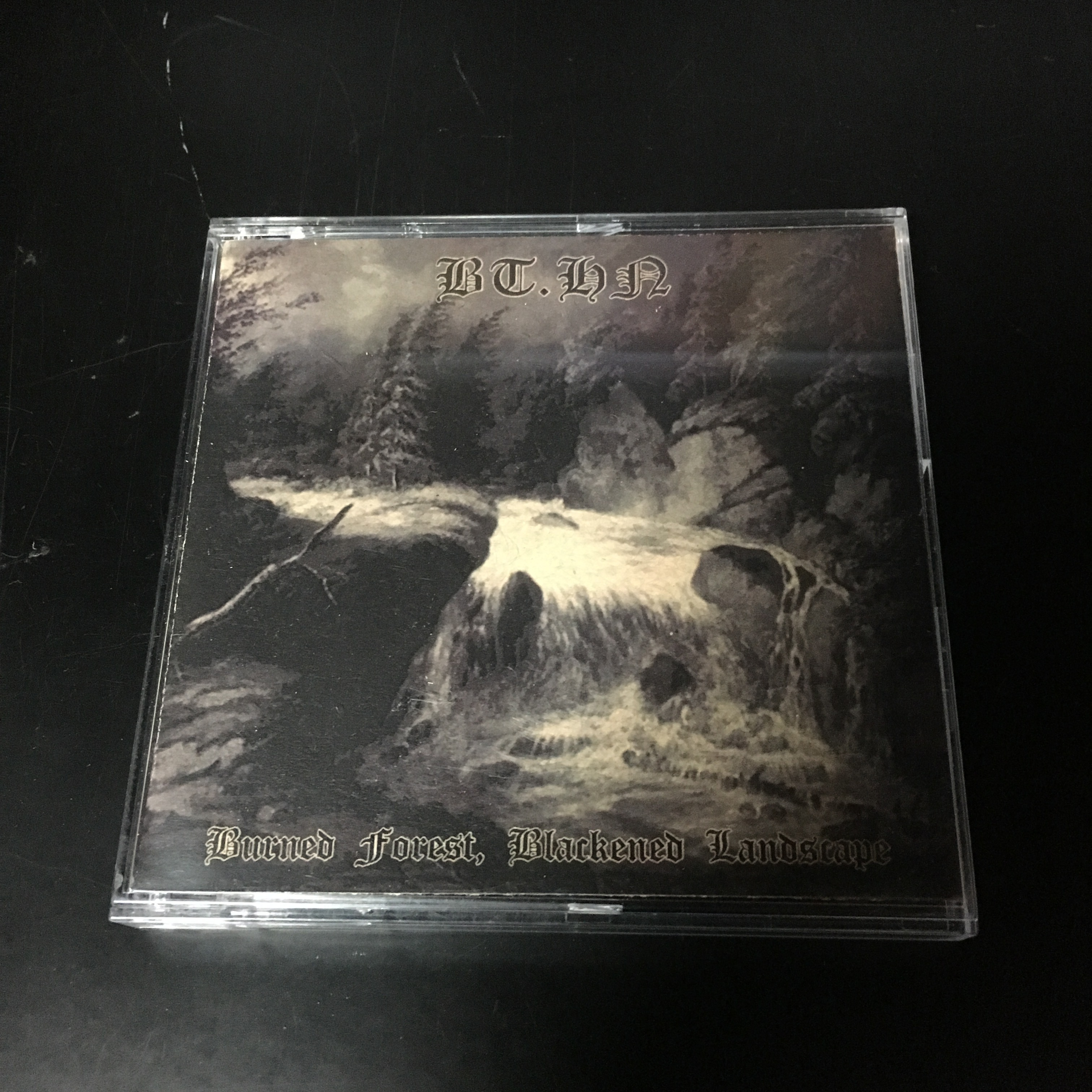 "BT.HN. ‎– Burned Forest, Blackened Landscape(3""CDR)USED"
