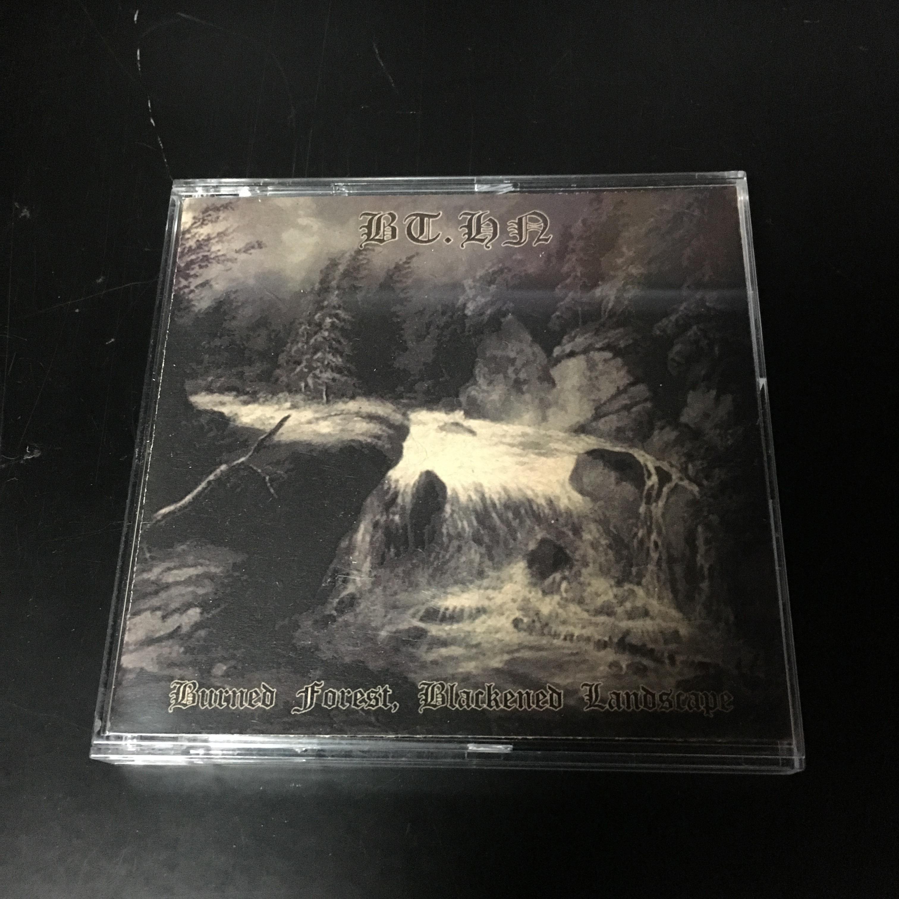 """BT.HN. – Burned Forest, Blackened Landscape(3""""CDR)USED"""