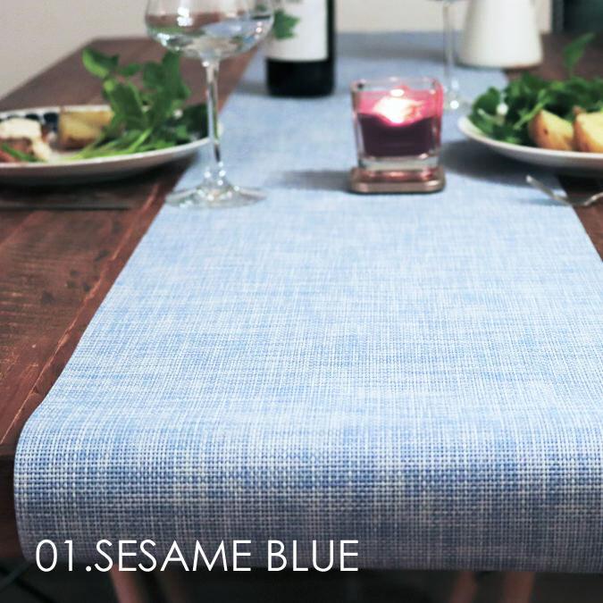 テーブルランナー SESAME BLUE