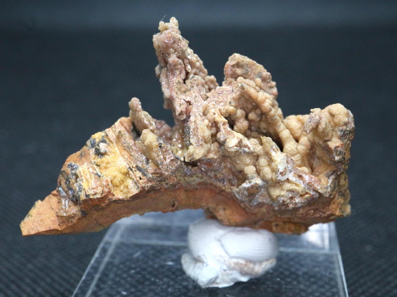 アメリカ産スミソナイト 菱亜鉛鉱 原石 ドゥルージー 23,5g SN012 鉱物 天然石 パワーストーン