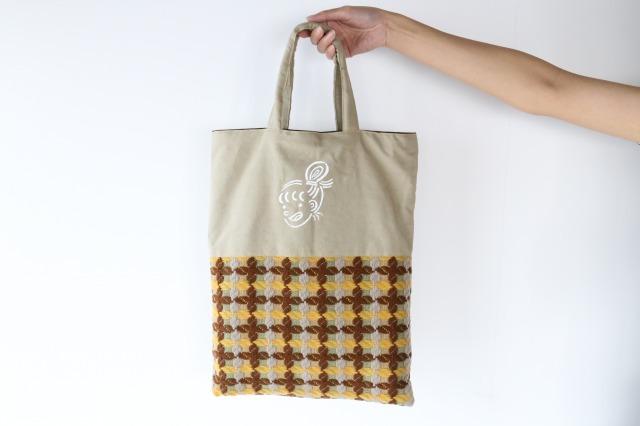 福嶋さくら 湯美ちゃんおたのしみ袋 (ニット切り替えトート)